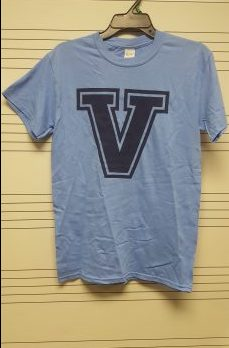 Carolina Blue Short-sleeved (Front)